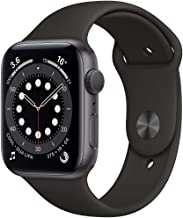 Amazon offers on Mobiles - New Apple Watch Series 6 (GPS, 44mm) - Space Grey Aluminium Case with Black Sport Band