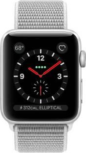 Flipkart offers on Mobiles - APPLE Watch Series 3 GPS + Cellular - 42 mm Silver Aluminium Case with Sport Loop Grey Strap, Regular