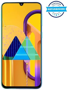Paytmmall offers on Mobiles - Refurbished Samsung Galaxy M30s 4GB 64GB Sapphire Blue (Grade: Excellent)