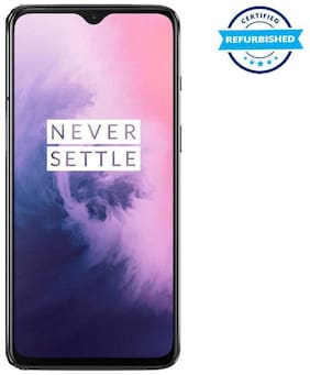 Paytmmall offers on Mobiles - Refurbished OnePlus 7 6 GB 128 GB Mirror Grey (Grade: Good)