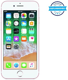 Paytmmall offers on Mobiles - Used Apple iPhone 7 2GB 32GB Rose Gold (Grade: Good)