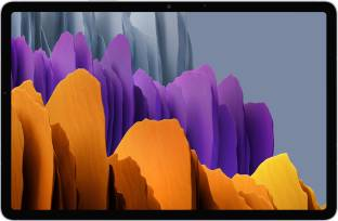 Flipkart offers on Mobiles - SAMSUNG Galaxy Tab S7+ 6 GB RAM 128 GB ROM 12.4 inch with Wi-Fi+4G Tablet (Mystic Silver)