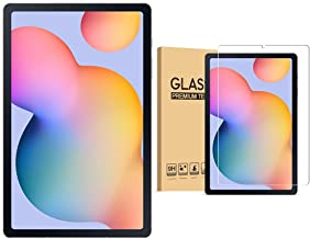 Amazon offers on Mobiles - Samsung Galaxy Tab S6 Lite 26.31 cm (10.4 inch), S-Pen in Box, Slim and Light, Dolby Atmos Sound, 4 GB RAM, 64 GB ROM, Wi-Fi Tablet, Chiffon Pink + 1 Pack Tempered