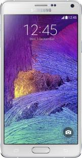 Flipkart offers on Mobiles - SAMSUNG Galaxy Note 4 (Frost White, 32 GB) 3 GB RAM