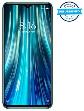 Paytmmall offers on Mobiles - Refurbished Xiaomi Redmi Note 8 Pro 6GB 128GB LN Gamma Green (Grade: Excellent)