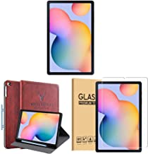 Amazon offers on Mobiles - Samsung Galaxy Tab S6 Lite 26.31 cm (10.4 inch), S-Pen in Box, Slim and Light, Dolby Atmos Sound, 4 GB RAM, 64 GB ROM, Wi-Fi+LTE,Oxford Grey + Cover + 1 Pack Tempered