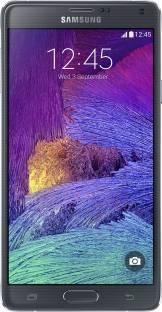 Flipkart offers on Mobiles - SAMSUNG Galaxy Note 4 (Charcoal Black, 32 GB) 3 GB RAM