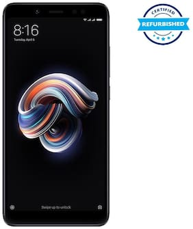 Paytmmall offers on Mobiles - Used Xiaomi Redmi Note 5 Pro 4GB 64GB Black (Grade: Excellent)