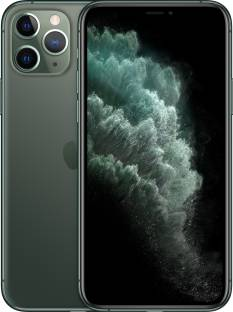 Flipkart offers on Mobiles - APPLE iPhone 11 Pro Max (Midnight Green, 256 GB)