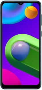 Flipkart offers on Mobiles - SAMSUNG Galaxy M02 (Blue, 32 GB) 3 GB RAM