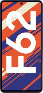 Flipkart offers on Mobiles - SAMSUNG Galaxy F62 (Laser Blue, 128 GB) 8 GB RAM