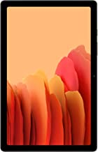 Amazon offers on Mobiles - Samsung Galaxy Tab A7 26.31 cm (10.4 inch), Slim Metal Body, Quad Speakers with Dolby Atmos, RAM 3GB, ROM 64 GB Expandable, Wi-Fi-only, Gold