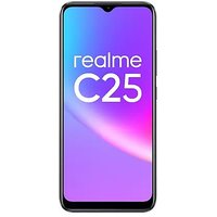 Shopclues offers on Mobiles - Realme C25 (Watery Grey, 128 GB) (4 GB RAM)