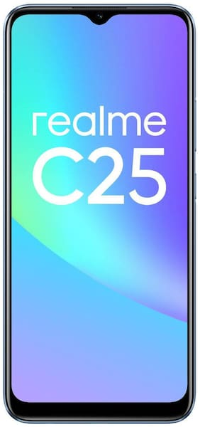 Paytmmall offers on Mobiles - Realme C25 4 GB 64 GB Watery Blue