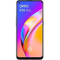 Shopclues offers on Mobiles - OPPO F19 Pro (Fluid Black, 128 GB) (8 GB RAM)