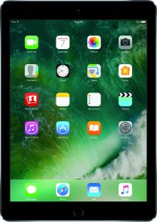 Flipkart offers on Mobiles - APPLE iPad 128 GB ROM 9.7 inch with Wi-Fi Only (Space Grey)
