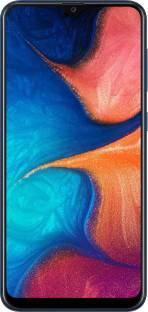 Flipkart offers on Mobiles - SAMSUNG Galaxy A20 (Deep Blue, 32 GB) 3 GB RAM
