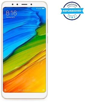 Paytmmall offers on Mobiles - Used Xiaomi Redmi Note 5 4GB 64GB Gold (Grade: Good)