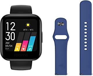 Amazon offers on Mobiles - Realme Fashion Watch (Black) + Additional Fashion Strap (Blue)