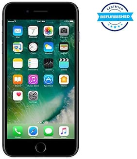 Paytmmall offers on Mobiles - Refurbished Apple iPhone 7 plus 3GB 128GB Black (Grade: Excellent)