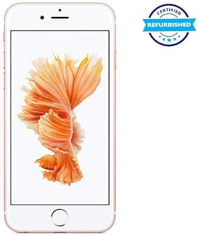 Paytmmall offers on Mobiles - Used Apple iPhone 6s 2GB 64GB Rose Gold (Grade: Excellent)