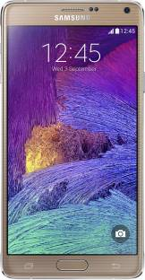 Flipkart offers on Mobiles - SAMSUNG Galaxy Note 4 (Bronze Gold, 32 GB) 3 GB RAM