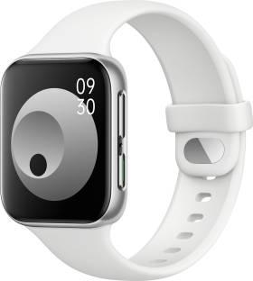 Flipkart offers on Mobiles - OPPO Watch 41 mm WiFi Smartwatch Silver Strap, Regular