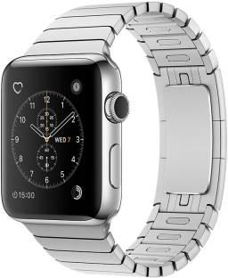 Flipkart offers on Mobiles - APPLE Watch Series 2 - 42 mm Stainless Steel Case with Silver Link Bracelet Silver Strap, Medium