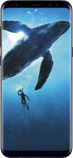 Flipkart offers on Mobiles - SAMSUNG Galaxy S8 Plus (Midnight Black, 64 GB) 4 GB RAM