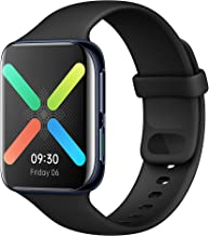 """Amazon offers on Mobiles - OPPO Health & Fitness Smart Watch(WiFi) Heart Rate Monitor,Exercise Tracking,Dual-Curved Display Up to 21 Days Battery Life(in Saver Mode), 1.91"""" AMOLED Display, in-Built GPS(Black)"""