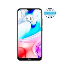 Paytmmall offers on Mobiles - Used Xiaomi Redmi 8 4 GB 64 GB Onyx Black (Grade: Excellent)