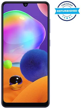 Paytmmall offers on Mobiles - Used Samsung Galaxy A31 6GB 128GB Prism Crush Blue (Grade: Good)