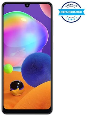 Paytmmall offers on Mobiles - Used Samsung Galaxy A31 6GB 128GB Prism Crush White (Grade: Excellent)