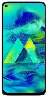 Flipkart offers on Mobiles - SAMSUNG Galaxy M40 (Midnight Blue, 128 GB) 6 GB RAM