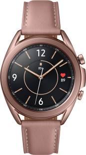 Flipkart offers on Mobiles - SAMSUNG Galaxy Watch 3 41 mm Smartwatch Pink Strap, Regular