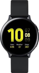 Flipkart offers on Mobiles - SAMSUNG Galaxy Watch Active 2 Aluminium LTE Smartwatch Black Strap, Regular