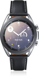 Flipkart offers on Mobiles - SAMSUNG Galaxy Watch 3 41 mm Smartwatch Black Strap, Regular