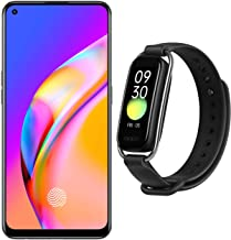 Amazon offers on Mobiles - OPPO F19 Pro (Crystal Silver, 8GB RAM, 256GB Storage) with No Cost EMI/Additional Exchange Offers + OPPO Smartband Style