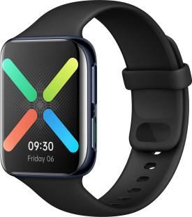 Flipkart offers on Mobiles - OPPO Watch 46 mm WiFi Smartwatch Black Strap, Regular