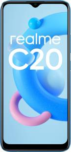 Flipkart offers on Mobiles - realme C20 (Cool Blue, 32 GB) 2 GB RAM