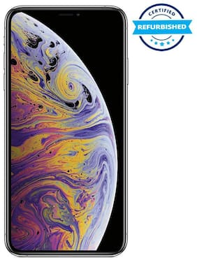 Paytmmall offers on Mobiles - Used Apple iPhone XS MAX 4GB 256GB Silver (Grade: Excellent)