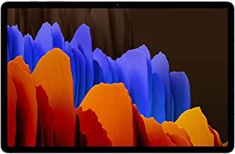 Amazon offers on Mobiles - Samsung Galaxy Tab S7+ 31.5 cm (12.4 inch) Super AMOLED 120 Hz Display, S-Pen in Box, Quad Speakers, 6 GB RAM 128 GB ROM, Wi-Fi+4G Tablet, Mystic Bronze