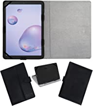 Amazon offers on Mobiles - Acm Leather Flip Flap Case Compatible with Samsung Galaxy Tab A 8.4 2020 Tablet Cover Stand Black