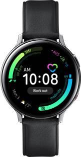 Flipkart offers on Mobiles - SAMSUNG Galaxy Watch Active 2 Steel LTE Smartwatch Black Strap, Regular
