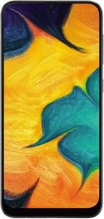 Flipkart offers on Mobiles - SAMSUNG Galaxy A30 (Black, 64 GB) 4 GB RAM