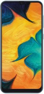 Flipkart offers on Mobiles - SAMSUNG Galaxy A30 (Blue, 64 GB) 4 GB RAM
