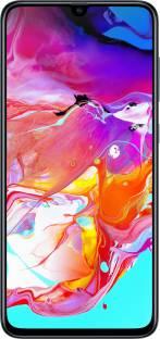 Flipkart offers on Mobiles - SAMSUNG Galaxy A70 (Black, 128 GB) 6 GB RAM