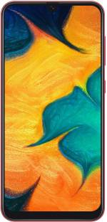 Flipkart offers on Mobiles - SAMSUNG Galaxy A30 (Red, 64 GB) 4 GB RAM