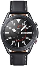 Amazon offers on Mobiles - Samsung Galaxy Watch 3 45mm SM-R845FZKAINS (LTE, Bluetooth,Wi-Fi, GPS) Smart Watch