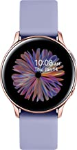 Amazon offers on Mobiles - Samsung Galaxy Watch Active 2 (Bluetooth, 40 mm) - Violet, Aluminium Dial, Silicon Straps